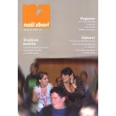Naši zbori, letnik 2009, tekstovno-notna številka 3